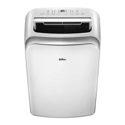DAITSU Electric APD9-CRV2 64dB Color blanco – aire acondicionado portátil (A, 1,01 kWh, 230 V, 50 Hz, Color blanco, 467 mm)