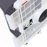 TROTEC Pac 3500 X – Acondicionador de aire local, 3,4 kW / 12.000 Btu, 3 velocidades, Blanco