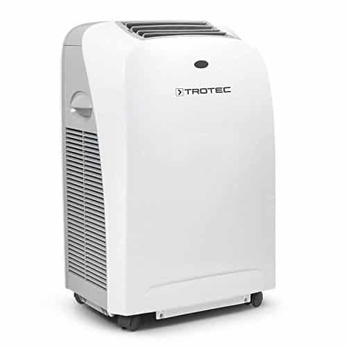 TROTEC Acondicionador de aire local PAC 2600 S de 2,6 kW / 9.000 Btu, EEK: A (Temporizador programable 24 horas, Mando a distancia infrarrojo, Dos velocidades de ventilación, Dirección de salida del aire orientable)