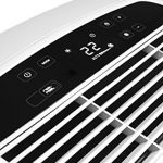 DeLonghi PAC AN97 63dB Color blanco – aire acondicionado portátil (A, 1 kWh, 220-240, Color blanco, LED, 449 mm)