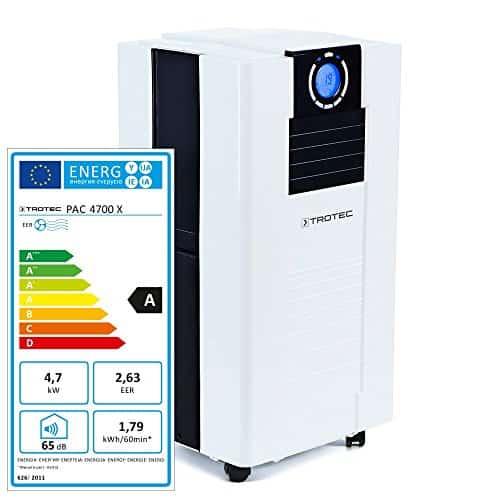 TROTEC Acondicionador de aire local PAC 4700 X de 4,7 kW / 16.000 Btu, EEK A