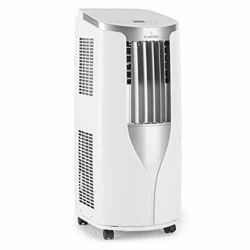 Klarstein New Breeze 9 Aire acondicionado portátil 2,7 kW (Bajo consumo clase A, función ventilador, modo secado, 4 niveles circulación aire, temporizador, refrigerador, mando a distancia, ruedas transporte, blanco)