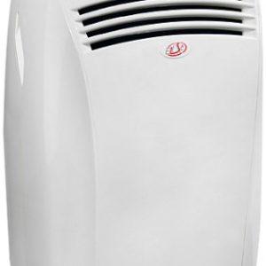 Olimpia Splendid Ellisse HP – Climatizador portátil, 2400 W, color blanco