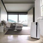 DeLonghi PAC EX100 Silent – aire acondicionado portátil (A++, Color blanco, LCD)