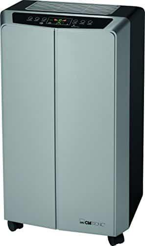 Clatronic CL 3639 65dB 875W Negro, Gris – aire acondicionado portátil (A, 875 W, 220-240, Negro, Gris, LED)