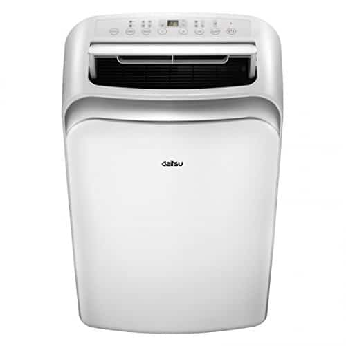 DAITSU Electric APD12-CRV2 65dB Color blanco – aire acondicionado portátil (A, 1,35 kWh, 230 V, 50 Hz, Color blanco, 467 mm)