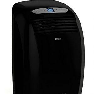 Olimpia Splendid Dolceclima Nano Silent N 61dB Negro – aire acondicionado portátil (A, 0,8 kWh, Negro, LCD, 450 mm, 365 mm)