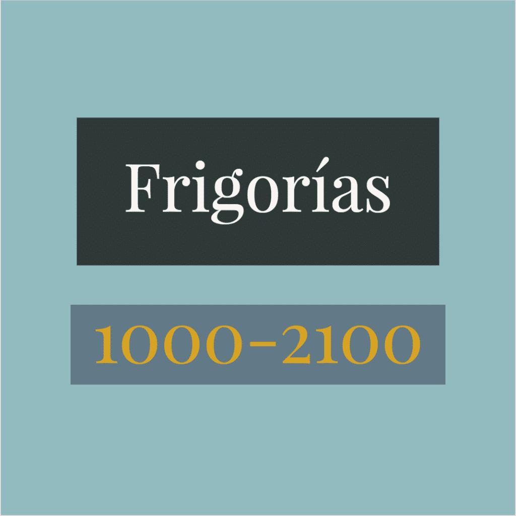 Aire acondicionado portátil de 1000 a 2100 frigorías