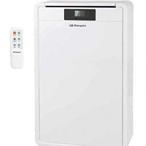 Orbegozo ADR 120 Color blanco – aire acondicionado portátil (A, 220-240, Color blanco, 450 mm, 408 mm, 747 mm)