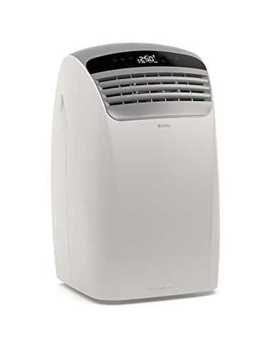Olimpia Splendid Dolceclima Silent 12 63dB Color blanco – aire acondicionado portátil (A, 1,1 kWh, 230 V, 50 Hz, Color blanco, LCD)