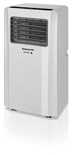 Taurus AC201 – Aire acondicionado portátil (3 funciones, ajuste de temperatura, caudal de aire, filtro anti polvo lavable)