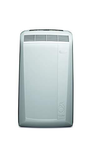 DeLonghi PAC N77 ECO 50 dB 800 W Blanco – Aire acondicionado portátil (A, 0,8 kWh, 800 W, Blanco, 449 mm, 395 mm)